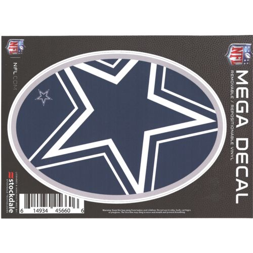 "Stockdale Dallas Cowboys 5"" x 7"" Repositionable Decal"