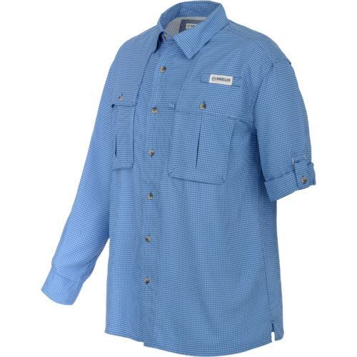 Magellan Outdoors™ Men's Aransas Pass Long Sleeve Gingham