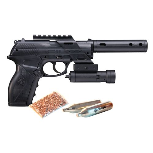 Crosman C11® .177 Caliber Tactical BB Air Pistol Kit