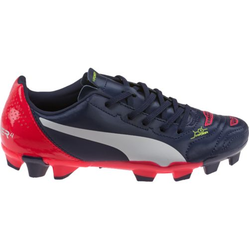 PUMA Kids' evoPOWER 4.2 Jr. Soccer Cleats