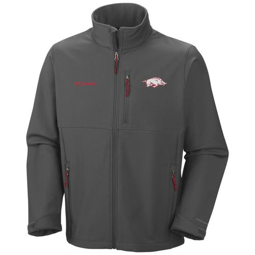 Columbia Sportswear Men's University of Arkansas Collegiate Ascender™ Softshell Jacket