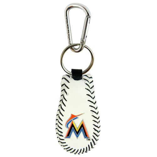 GameWear Miami Marlins Baseball Key Chain