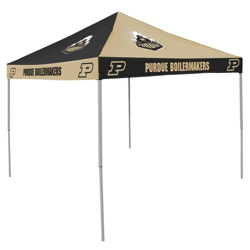 Logo Purdue University Straight-Leg 9 ft x 9 ft Checkerboard Tent