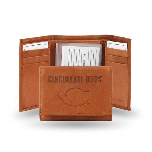 Rico Men's Cincinnati Reds Leather Wallet