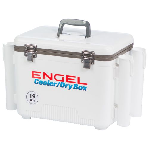 Engel 19 qt. Cooler/Dry Box with Rod Holders - view number 7