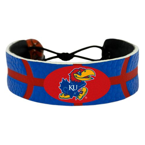 GameWear University of Kansas Team Color Basketball Bracelet