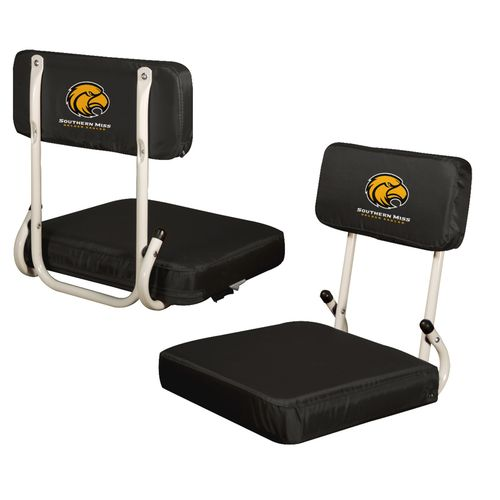 Logo™ University of Southern Mississippi Hardback Stadium Seat