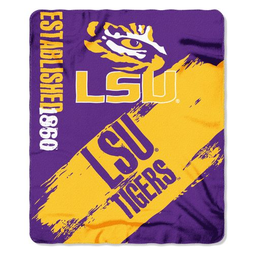 The Northwest Company Louisiana State University Painted Fleece Throw