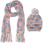 Magellan Outdoors™ Girls' Multi Beanie and Scarf Set