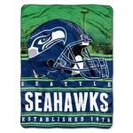 The Northwest Company Seattle Seahawks Stacked Silk Touch Throw