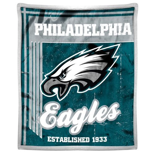 The Northwest Company Philadelphia Eagles Old School Mink with Sherpa Throw