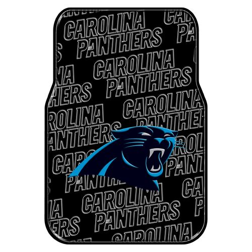 The Northwest Company Carolina Panthers Front Car Floor Mats 2-Pack