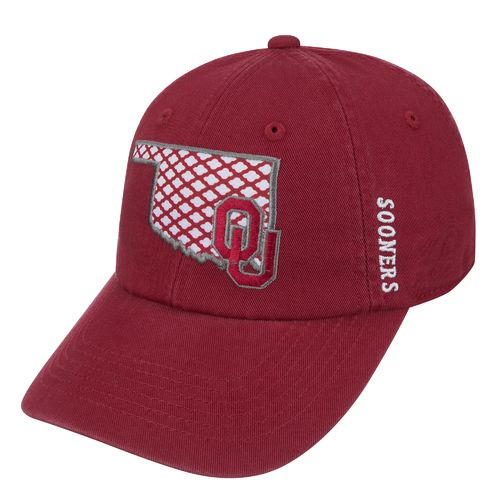 Top of the World Women's University of Oklahoma Quadra Cap