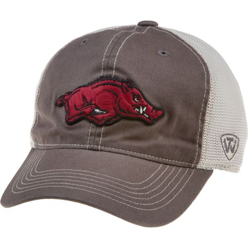 Top of the World Adults' University of Arkansas Putty Cap