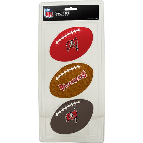 Rawlings® Tampa Bay Buccaneers 3rd Down Softee 3-Ball Football Set