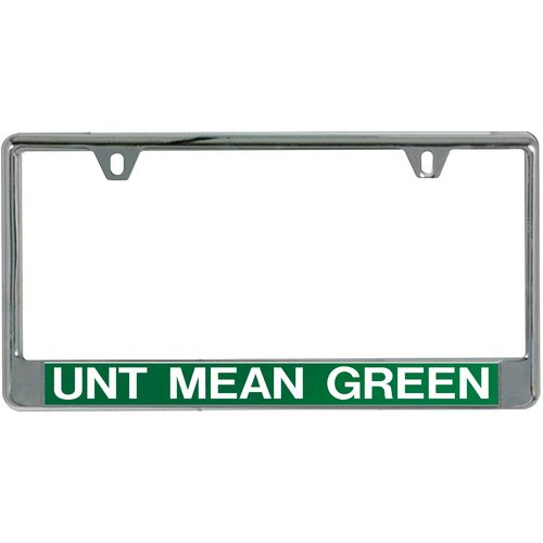 Stockdale University of North Texas Mirror License Plate Frame - view number 1