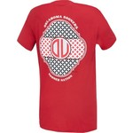 New World Graphics Women's University of Oklahoma Pattern Mono T-shirt