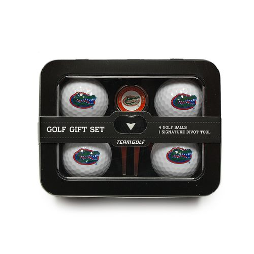 Team Golf University of Florida 4-Ball Tin Gift