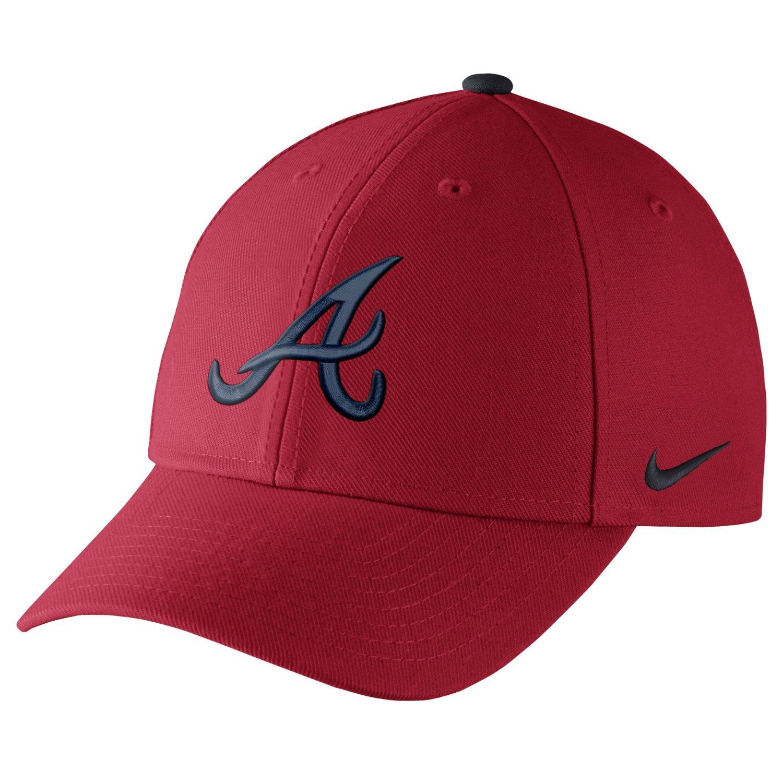 Nike™ Adults' Atlanta Braves Dri-FIT Classic Swoosh Flex Cap