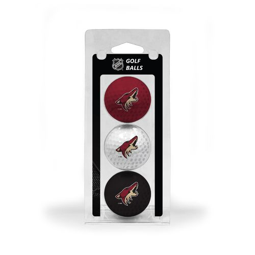Team Golf Arizona Coyotes Golf Balls 3-Pack - view number 1