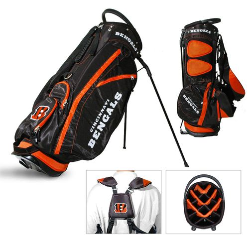 Team Golf Cincinnati Bengals Fairway 14-Way Golf Stand