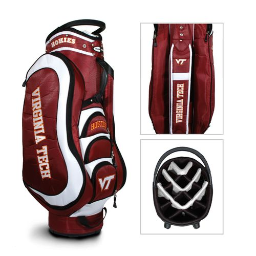 Team Golf Virginia Tech Medalist Cart Golf Bag