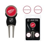 Team Golf Detroit Red Wings Divot Tool and Ball Marker Set - view number 1