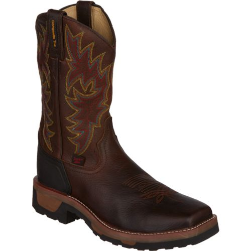 Tony Lama Men's Bark Badger TLX Composition-Toe Western Work Boots - view number 2