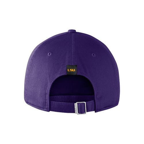 Nike™ Men's Louisiana State University Heritage86 Wordmark Swoosh Flex Cap - view number 2