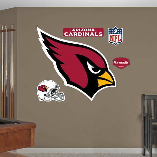 Fathead Arizona Cardinals Real Big Team Logo Decal