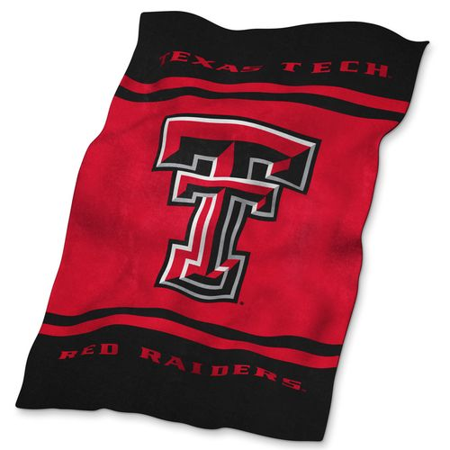Logo Texas Tech University Ultrasoft Blanket
