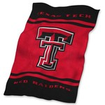 Logo™ Texas Tech University Ultrasoft Blanket - view number 1