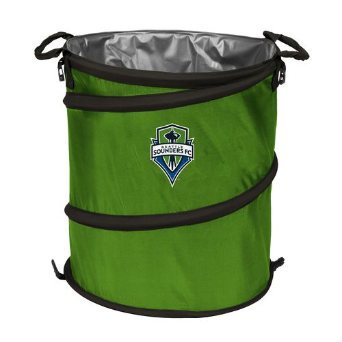 Logo™ Seattle Sounders FC Collapsible 3-in-1 Cooler/Hamper/Wastebasket - view number 1
