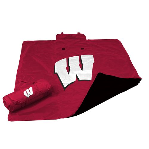 Logo™ University of Wisconsin All-Weather Blanket - view number 1
