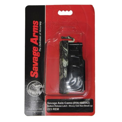 Savage 10/11/12 .223 Rem/.204 Ruger 4-Round Replacement Magazine