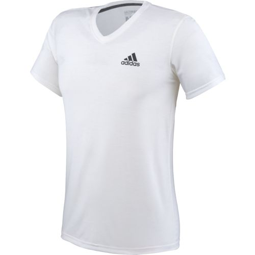 Display product reviews for adidas Men's Ultimate Short Sleeve V-neck T-shirt
