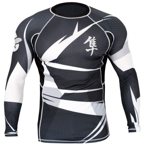 Hayabusa Fightwear Men's Metaru 47™ Long Sleeve Rash Guard
