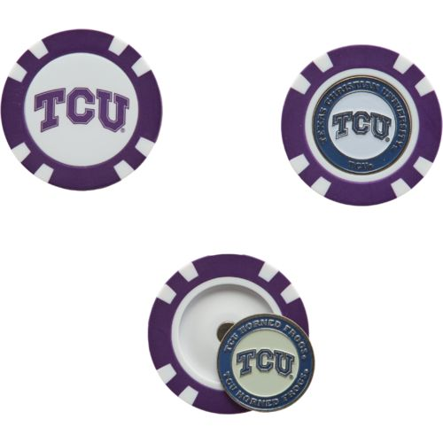 Team Golf Texas Christian University Poker Chip and