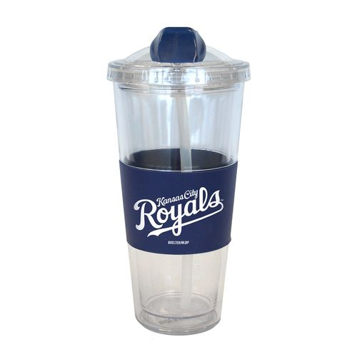 Boelter Brands Kansas City Royals 22 oz. No-Spill Straw Tumblers 2-Pack