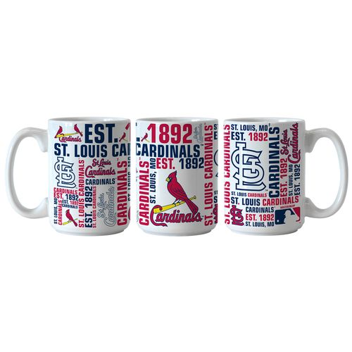 Boelter Brands St. Louis Cardinals Spirit 15 oz. Coffee Mugs 2-Pack