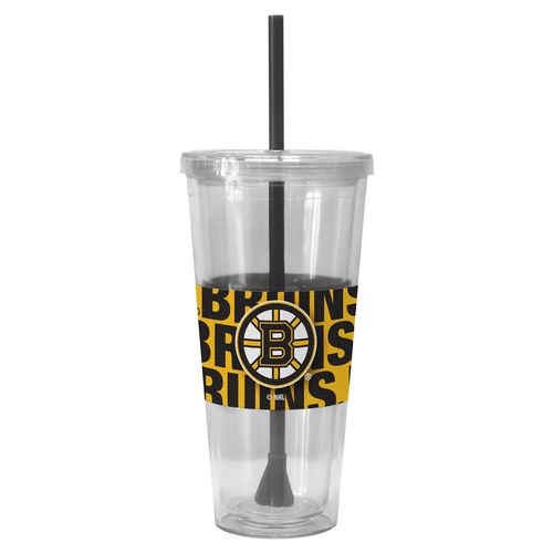 Boelter Brands Boston Bruins 22 oz. Straw Tumblers 2-Pack