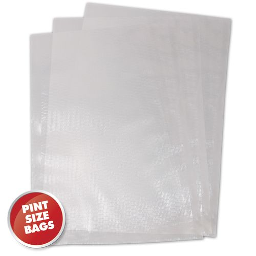 "Weston 6"" x 10"" Pint Size Vacuum Bags 100-Pack"
