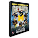 Photo File University of Michigan All-Time Greats Stretched Canvas Photo