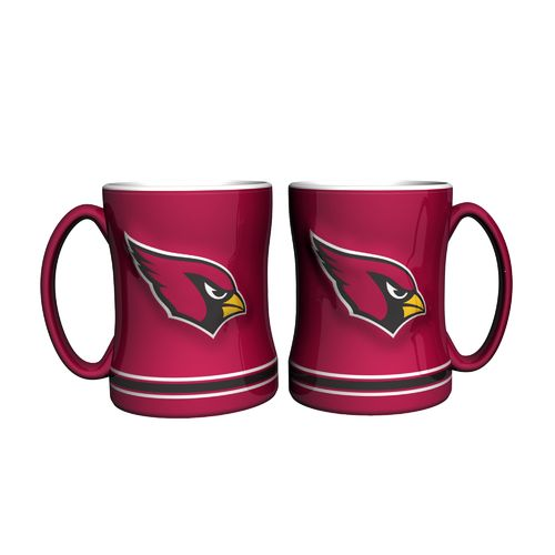 Boelter Brands Arizona Cardinals 14 oz. Relief Mugs 2-Pack
