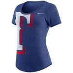 Nike™ Women's Texas Rangers Marled Scoop Neck T-shirt
