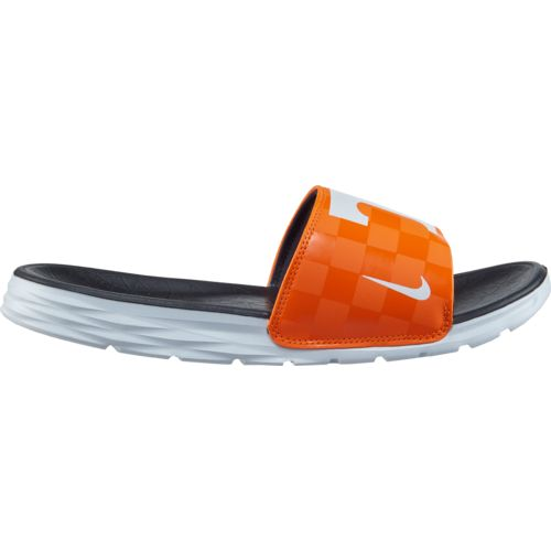 Display product reviews for Nike Men's NCAA Benassi Solarsoft Sport Slides