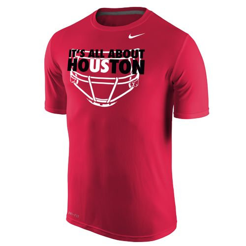 Nike™ Men's University of Houston Dri-FIT Legend Short Sleeve T-shirt