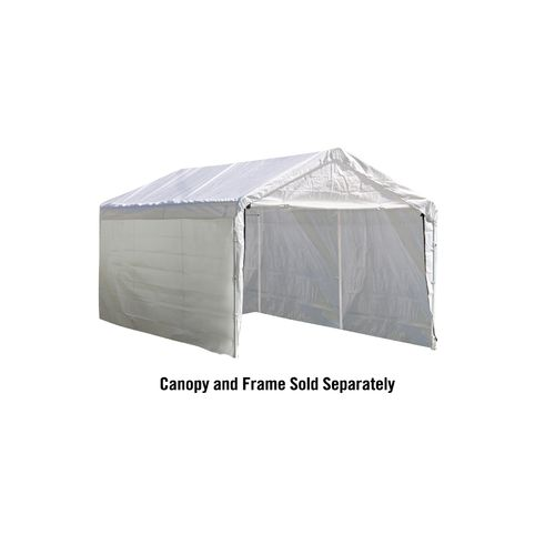 Display product reviews for ShelterLogic 12' x 20' Canopy Enclosure Kit