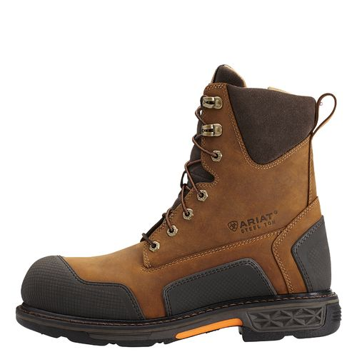 "Ariat Men's Overdrive XTR 8"" Steel-Toe Boots"