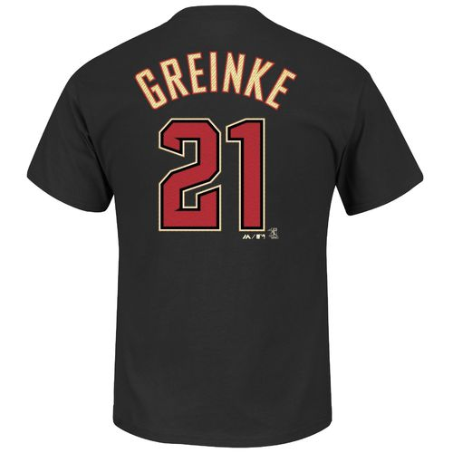 Majestic Men's Arizona Diamondbacks Zack Greinke #21 T-shirt - view number 1